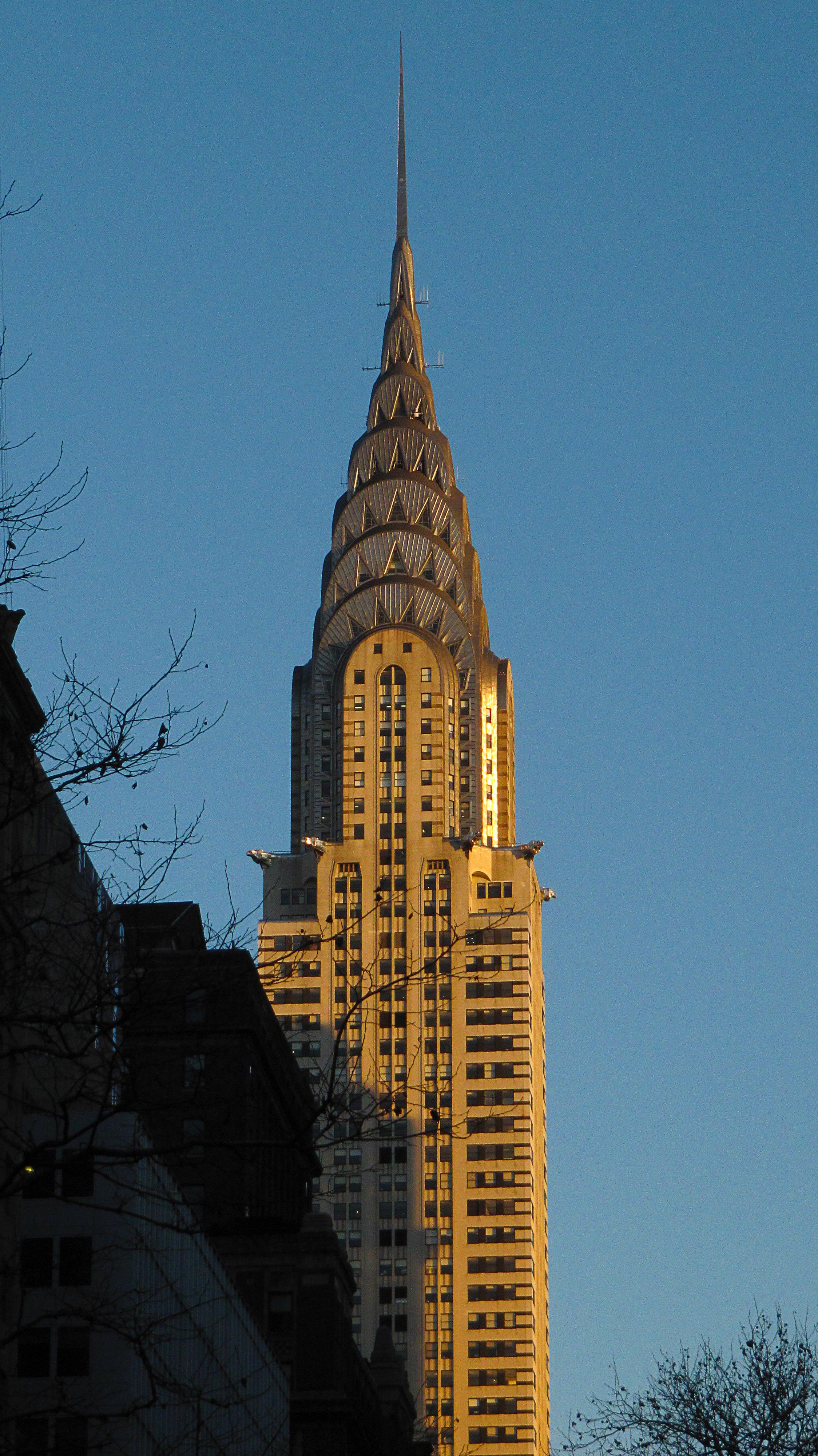 Chrysler Building Spire Construction