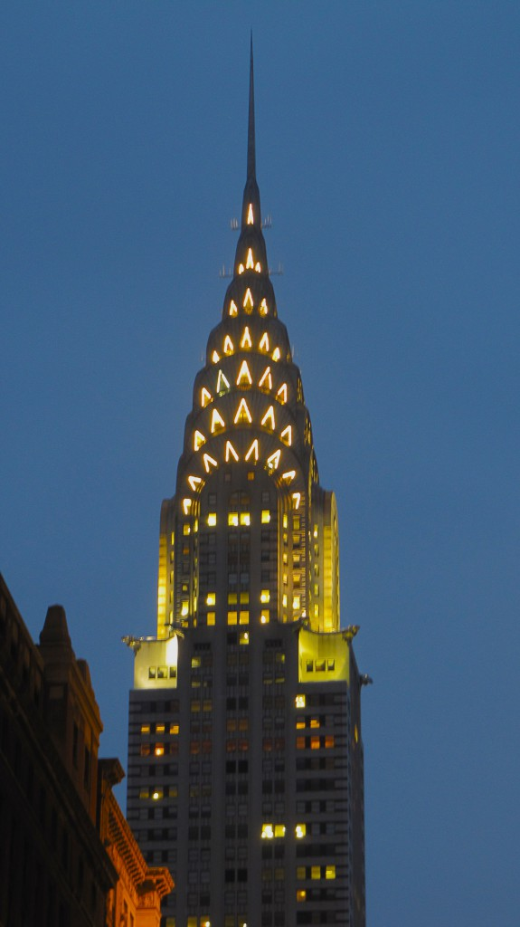 Chrysler Bldg Dusk