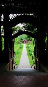 Vanderbilt Perennial Garden Arbor