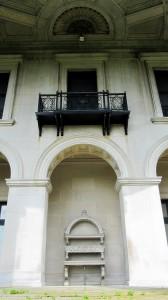 Rear Porch Arch Ceiling