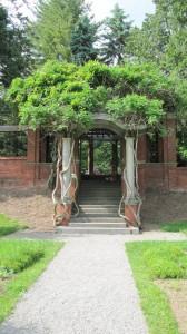 Trellis Arch Steps